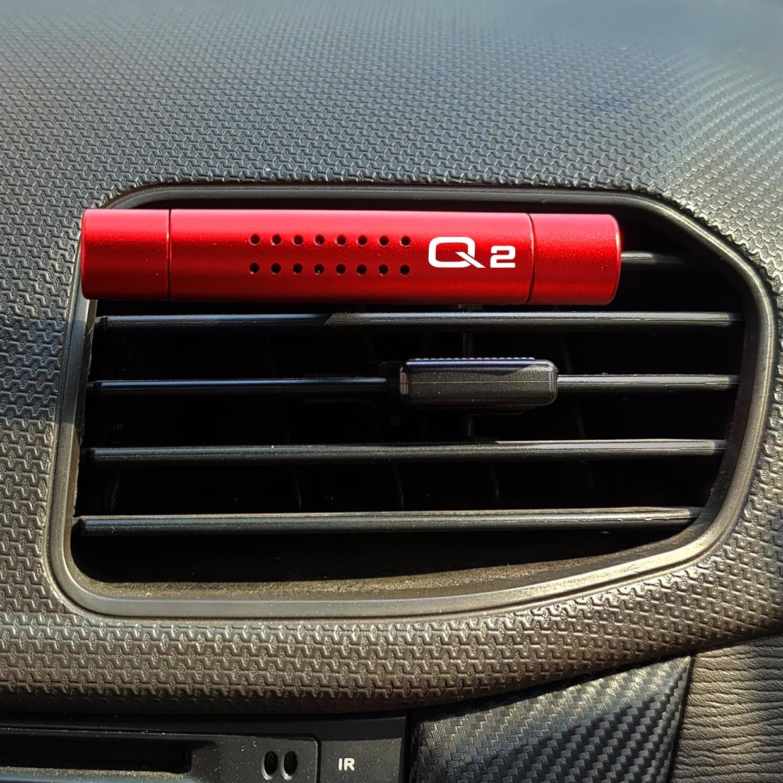 Автомобильный освежитель воздуха на выходе зажим для ароматерапии палочки для Audi A4 B5 B6 B7 B8 B9 A3 8P 8L A5 A6 C6 C5 C7 A1 A7 A8 Q2 Q3 Q5 Q7 Q8