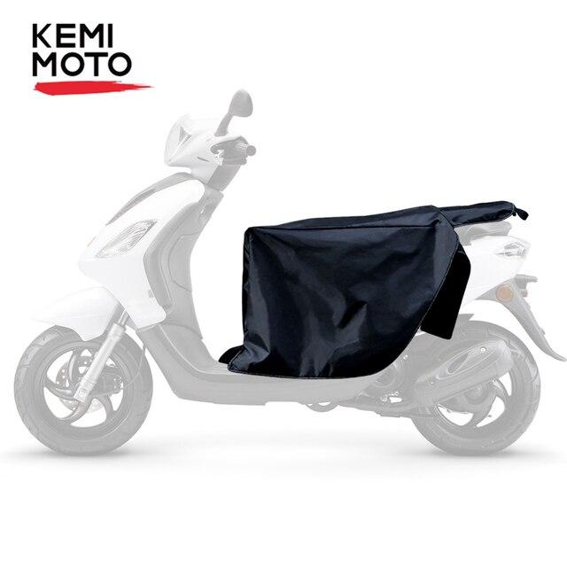KEMiMOTO bacak örtüsü scooter diz isıtıcı koruyucu motosiklet kış yorgan rüzgar geçirmez su geçirmez için Honda için Vespa