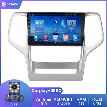 9 Inch For Jeep Grand Cherokee WK2 2008-2013 With DSP Carply 4G WIFI Camera GPS Navigation 2 DIn Radio Car Multimedia DVD Player 9 inch android 9 0 car navigation gps for toyota land cruiser prado150 2009 2013 multimedia player wifi dsp radio 2 din player