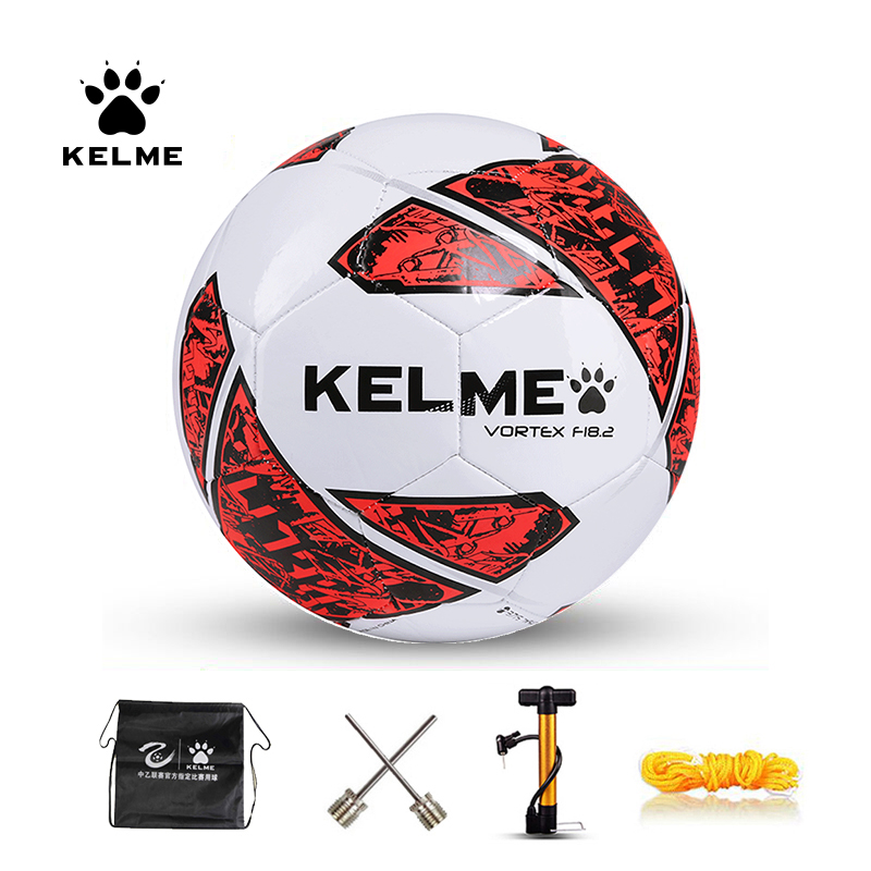 KELME Soccer Ball Futsal Ball Low Bounce PU Training Balls Indoor Football Official Size 4 Match Ball High Quality 9086842