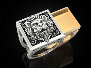 Мужские комбинированные кольца POFUNUO, подарочное кольцо в стиле хип-хоп, кольца викингов Live Forever
