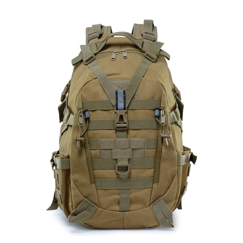 Sac à dos tactique hommes Sports de plein air sac à dos Molle alpinisme sac à dos randonnée sac à dos épaule sac d'équitation Camouflage