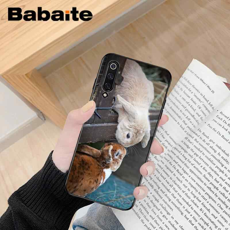 Babaite lindo animal conejo suave silicona TPU teléfono cubierta para Xiaomi 6 MIX2 8SE K20 REDMI 5A NOTE4X 7 6A Coque carcasa