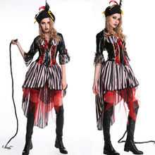 Halloween Pirate Costume Cosplay Night Cosmetic Party Costumes Christmas for Women