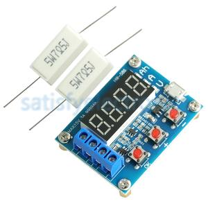 Image 2 - HW 586 1.2v 12v 18650 Li ion Lithium Battery Capacity Tester Resistance Lead acid Battery Capacity Meter Discharge Tester