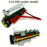 rare fine 1:16 DD seeder model Out of print Tractor accessories Alloy collection model