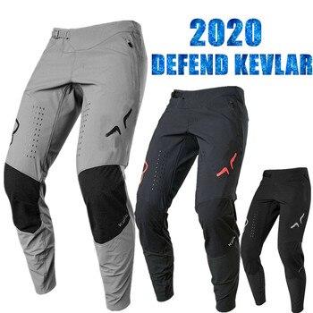 Pantalones de Ciclismo de Kevlar para montar en bicicleta de montaña, cálidos,...