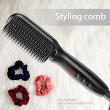 YuBeauty Ionic Hair Straightening Comb Hair Straightener Brush Safe and Fast Heat WT-029