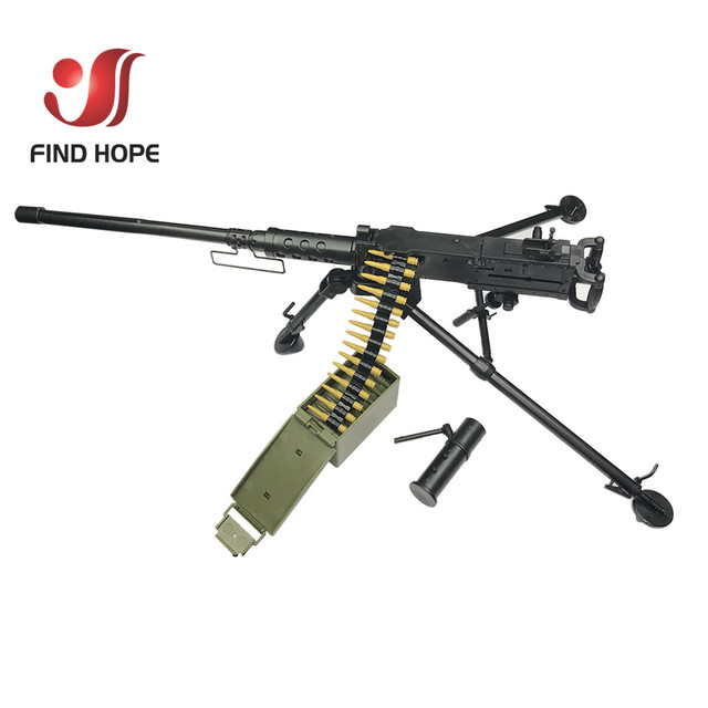 1:6 Scale Browning M2 MACHINE GUN Model Military US Army Assembly Toy for Action Figure Accesssories