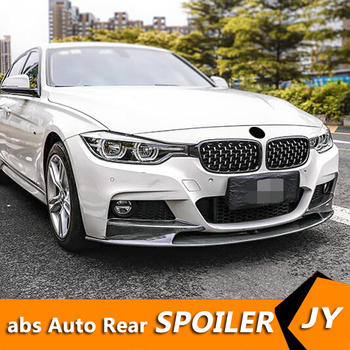 For F30 F35 Body kit spoiler 2012-2017 BMW M3 320i 320li 32 ABS Rear lip rear spoiler front Bumper Diffuser Bumpers Protector image