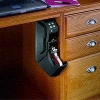 Magorui Gun Safe Gun Box Password Combination With Security Key Pistol Glock 1911 Sig M&P Taurus Handgun Strongbox