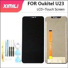 6.18 polegada Para Oukitel U23 Tela LCD Display + Touch Screen Digitador Assembléia Peças de Reposição Para Oukitel U23 LCD + Ferramentas Gratuitas + 3m