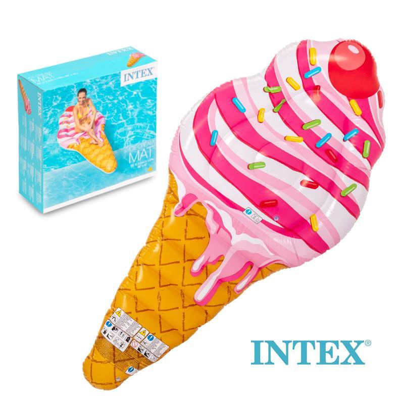 INTEX COLCHONETA HELADO 224 X 107 CM. Hinchables, Juegos De Agua.