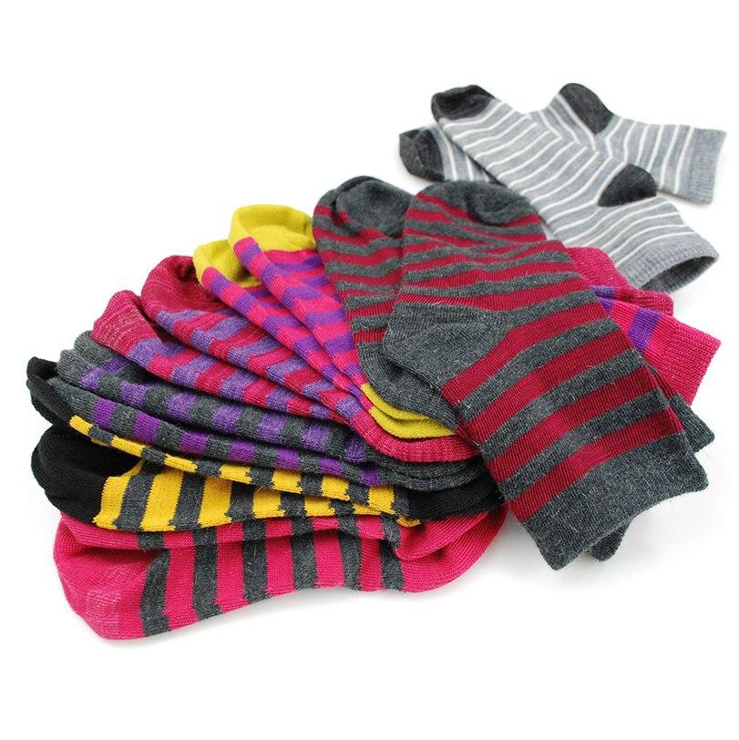 Merino Wool Kids Socks Thermal Baby Girl Boy Winter Stripe Color Sock