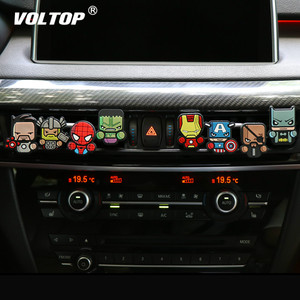 Image 2 - Cartoon Air Freshener Perfume Car Diffuser Smell Car Interior Accessories Air Condition Vent Outlet Fashion Cool