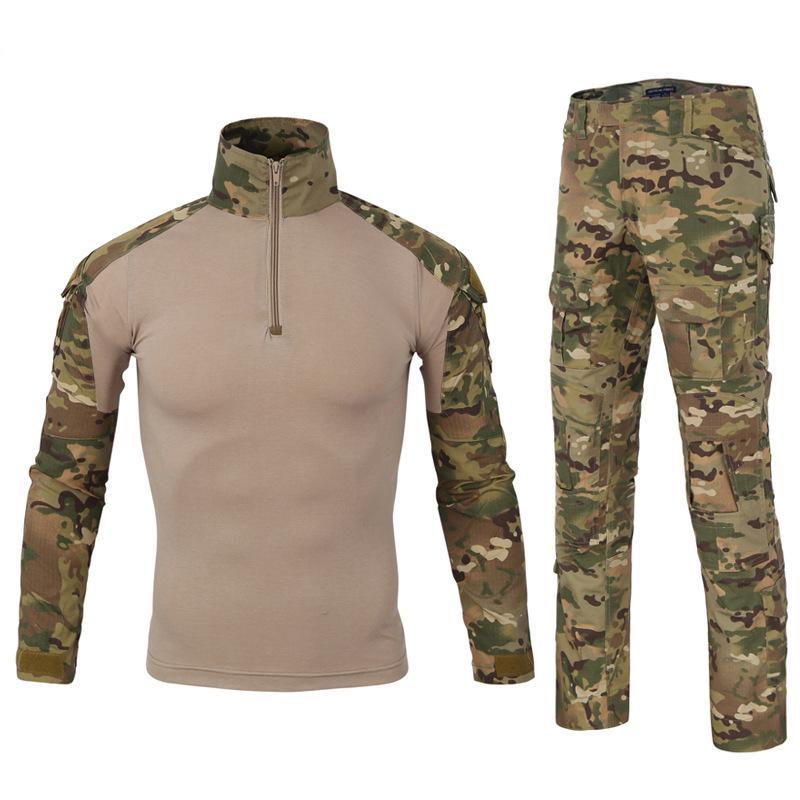 Tactical Camouflage Military Uniform Clothes Suit Men Us Army Clothes Military Combat Shirt Cargo Pants Military Uniform Battle