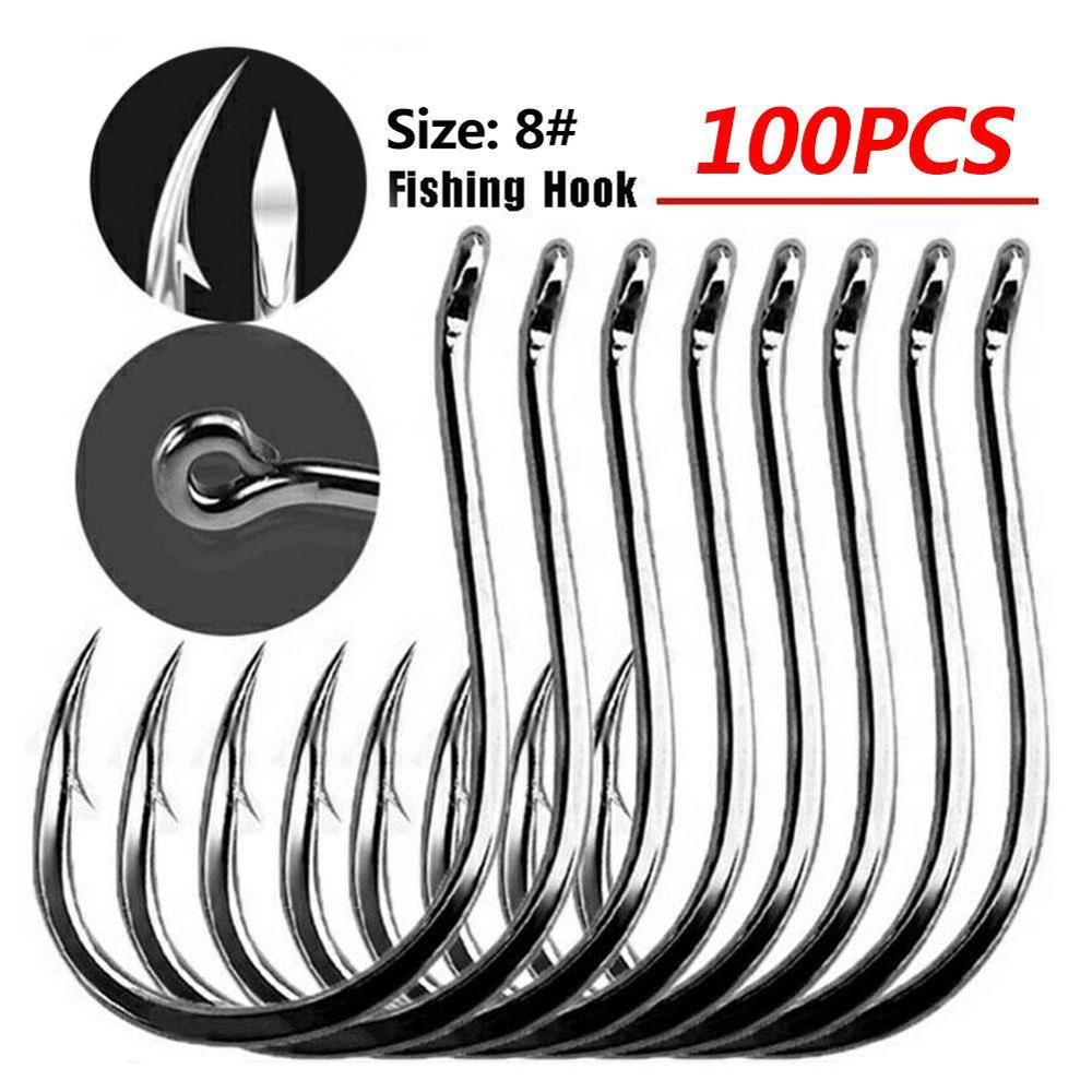 Mustad <font><b>10881</b></font> Jigging Hooks High Carbon Steel Deep Ocean Fishing Hooks Jig Large Barbs With Circle Squid Grouper Hook Accessories image