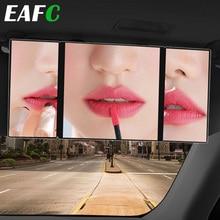 Car-Mirror Universal Auto-Accessories Interior 3-Section Folding