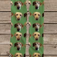3D Printed Custom Dog Face Socks Personalized Dog Socks Cust