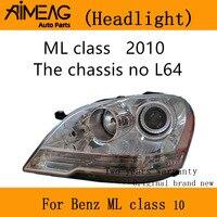 Made for Mercedes-Benz ML-Class Genuine Halogen Left Headlight Headlamp NEW 2009-2011