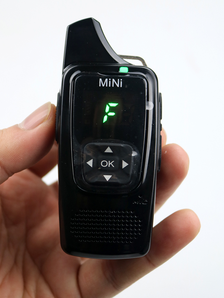 Transceiver Radio-Station Walkie-Talkie Free-Headset MINI Pmr446-Cb Ultra-Small Comunicador