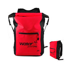 25L PVC Waterproof Dry Bag Backpack For Canoe Floating Boating Kayaking Camping(China)