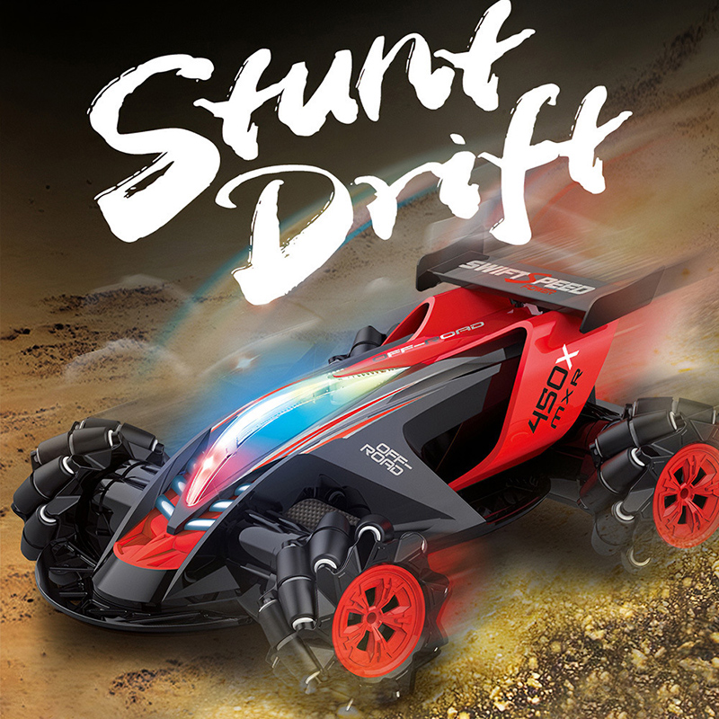 360 degré 4WD tout-terrain RC voiture jouet 1/10 cascadeur pneu dérive Spin course véhicule cadeau DC156