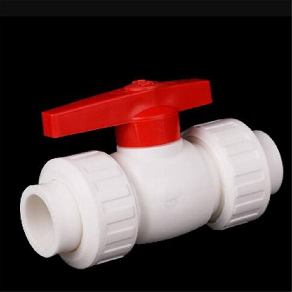 PPR Double Live Ball Valve 4 Points 20 6 Points 25 1 Inch 32 Thickened All Plastic High Density Hot Melt Water Valve