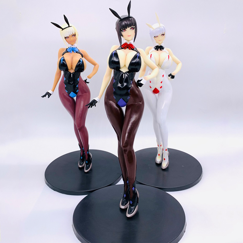 BUNNY GIRL Izayoi Erika Q-six Soft Body Sexy Girls Action Figure Japanese Anime PVC Adult Action Figures Toys Anime Figures Toy