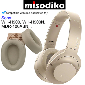 Image 4 - misodiko Replacement Ear Pads Cushions Kit  for SONY h.ear on MDR 100ABN WH H900N WH H900, Headphones Repair Parts Earpads Cover