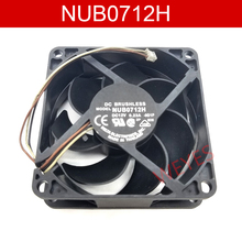 Brand new for NUB0712H 7CM/ 12V 0.23A 7025 Motor protection cooling fan