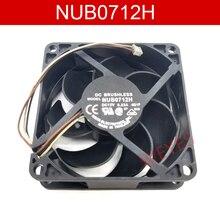 Nova marca para NUB0712H 7CM/ 12V 0.23A 7025 proteção Do Motor Do ventilador de refrigeração