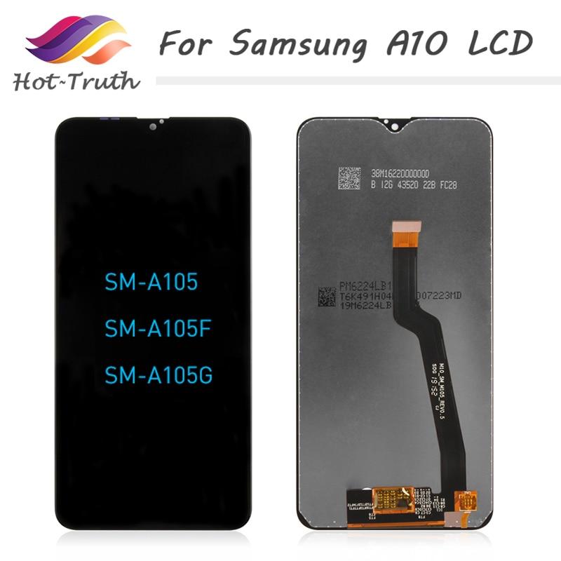 Original For Samsung Galaxy A10 LCD Digitizer A105/DS A105F A105FD A105A Display Touch Screen Digitizer For Samsung A10 Display