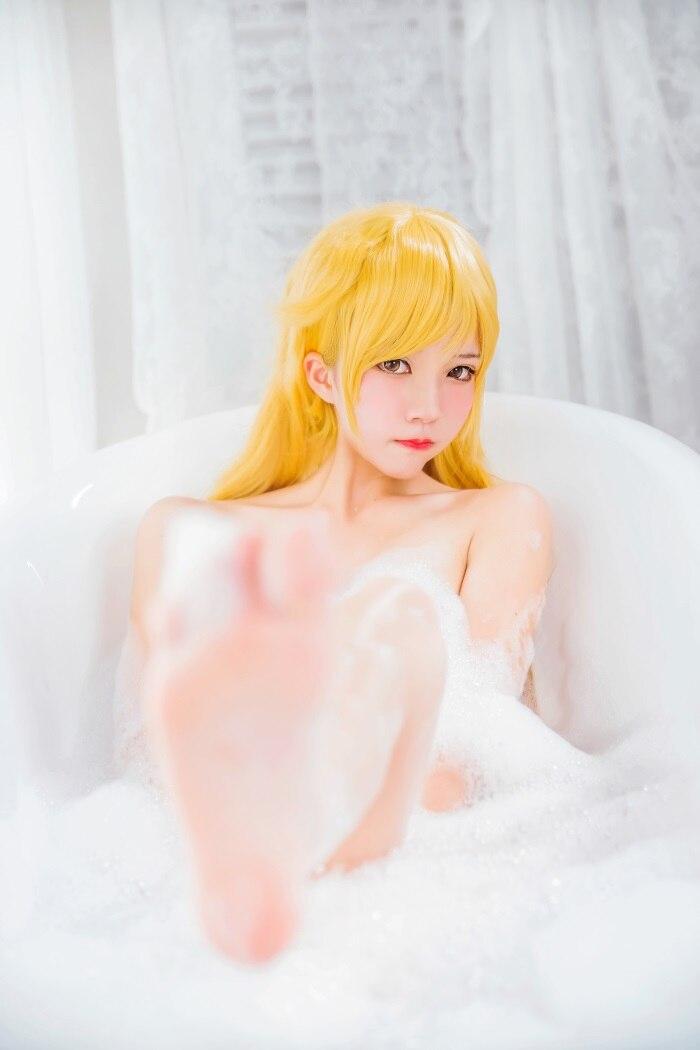 微博红人萝莉风COS 桜桃喵 – 浴缸里的泡沫浴[50P/380MB]插图
