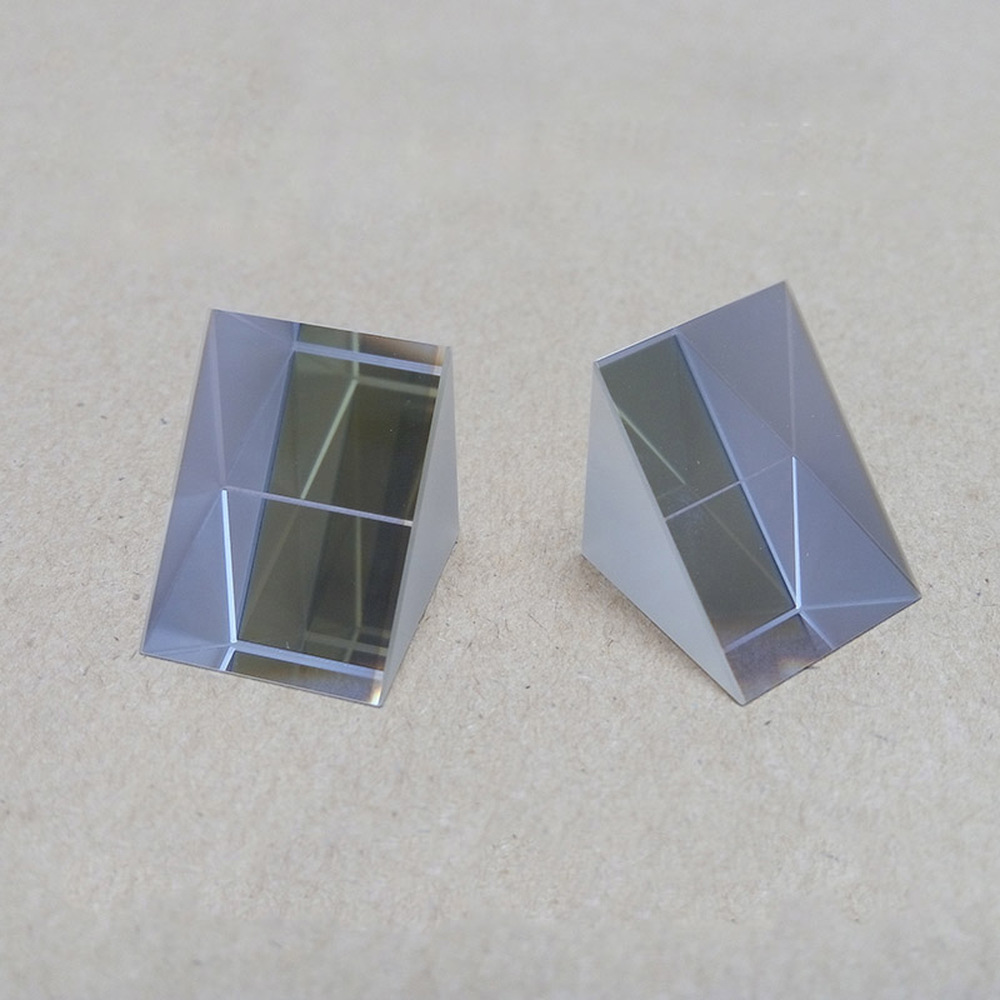 25*25*25mm Optical Experiments Of Isosceles Right Angle Triprism For Rainbow Glass K9