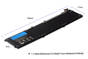Image 4 - KingSener New 4GVGH Laptop Battery for DELL Precision 5510 XPS 15 9550 series 1P6KD T453X 11.4V 84WH