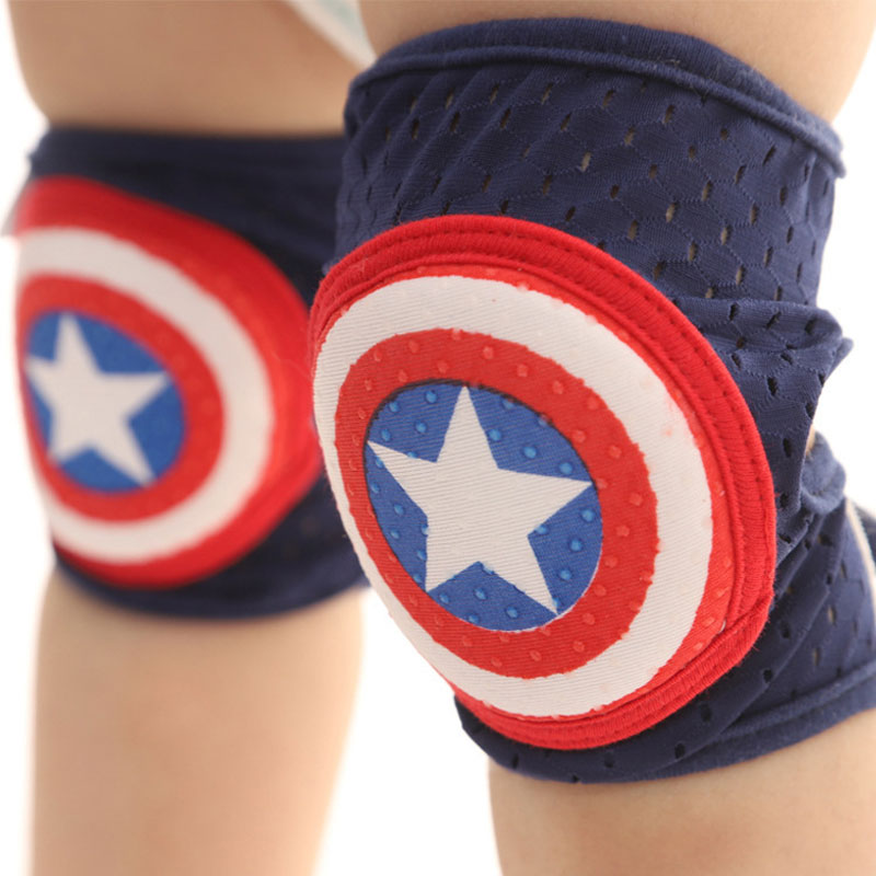 Baby Knee Pads Anti-fall Baby Lightweight Toddler Crawling Children Knee Pads Summer Sports Kids Elbow Pads