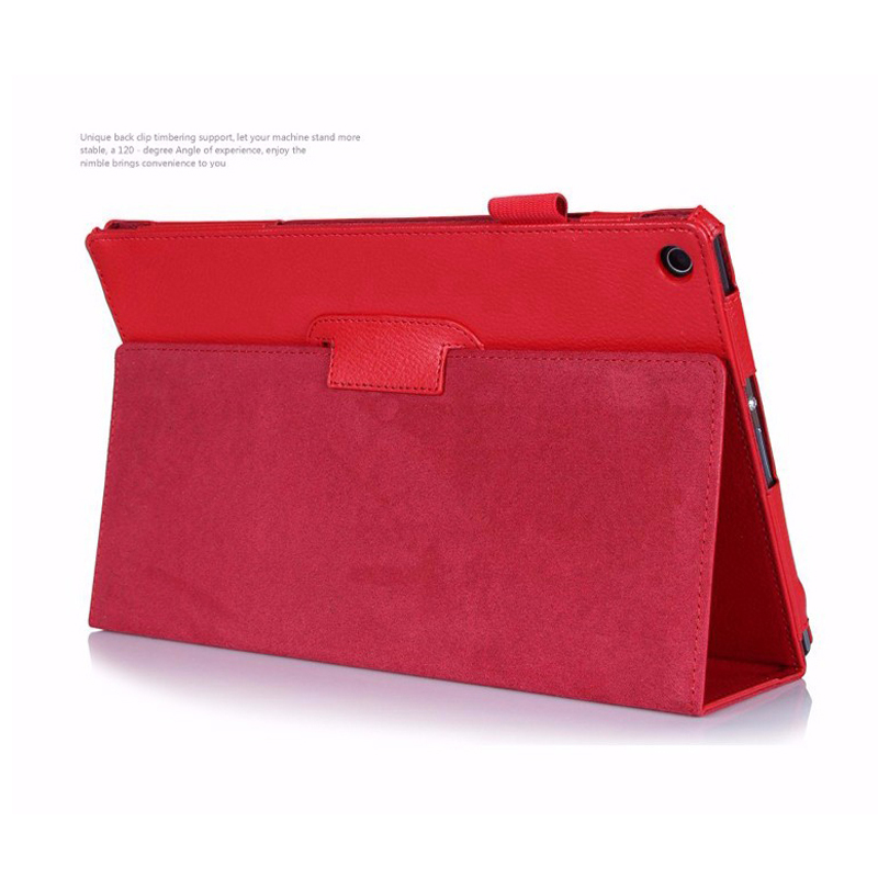 Pu Leather Stand Holder Tablet Case Cover For Sony Xperia Tablet Z Z1 10.1 Inch Magnetic Folio Cover