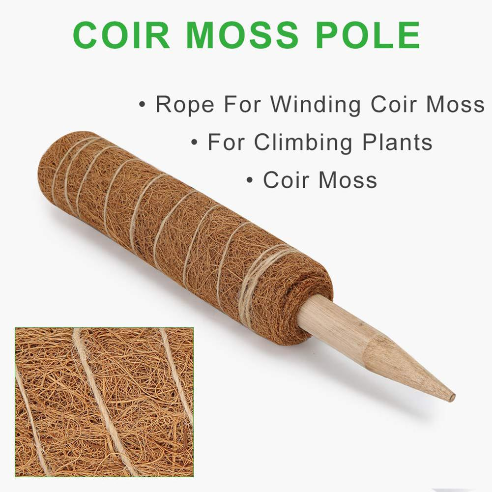 Plant Climbing Coir Totem Pole Safe Gardening Coconut Palm Stick For Support Plants Climbing Vines And Creepers Auxiliary Tools