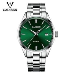Image 3 - CADISEN 2019 新メンズ機械式時計トップブランドの高級時計男性ファッション自動腕時計メンズ防水レロジオ masculino