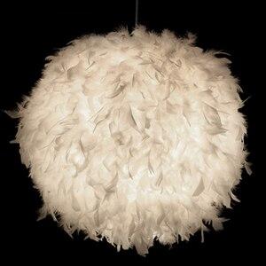Image 2 - Neue Kreative Feder Decke Licht Weiß Moderne Droplight Decke Lampe Schlafzimmer Studie Hängen Lampe Schlafzimmer wohnzimmer Beleuchtung