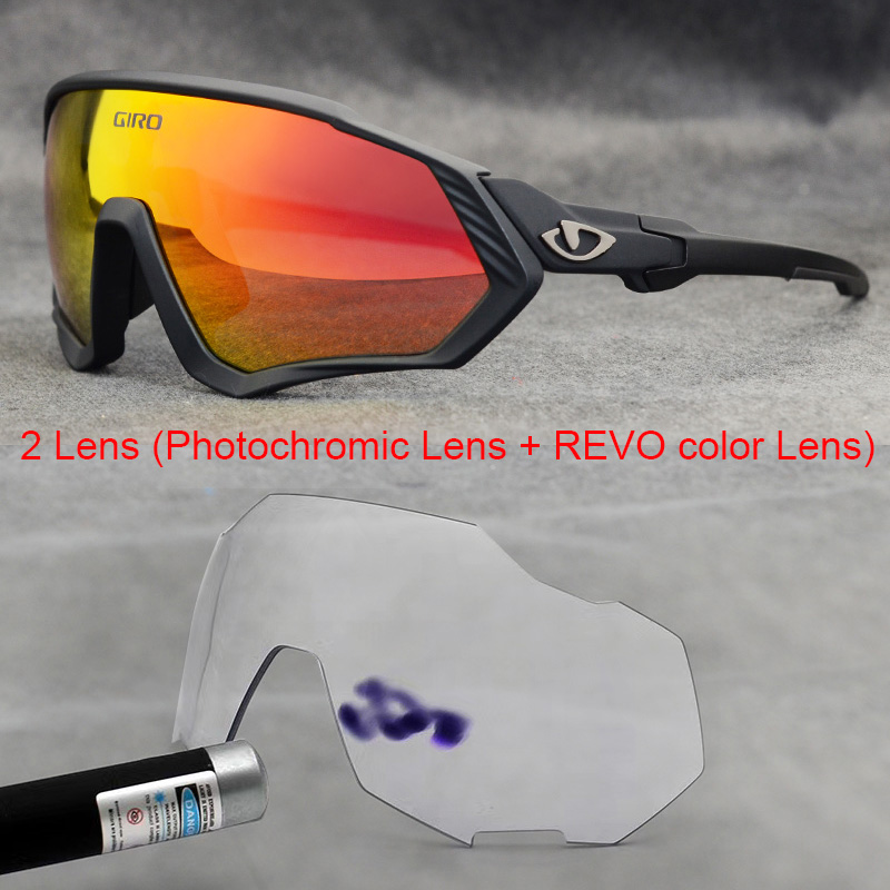 Giro 100-Bicycle Eyewear Cycling Sunglasses Bike Speed UV400 Photochromic MTB Outdoor title=