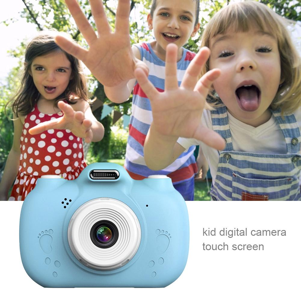 Kids Camera Toys Front And Rear HD Touch Screen 32GB Capacity Expansion Time-lapse Shooting Supports Wifi Real-time Transmission