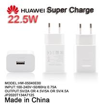 מקורי Huawei P20 פרו סופר תשלום מהיר מטען 5V / 4.5a האיחוד האירופי תקע מתאם עבור P10 P9 בתוספת Mate 10 9 פרו 20 לייט p חכם