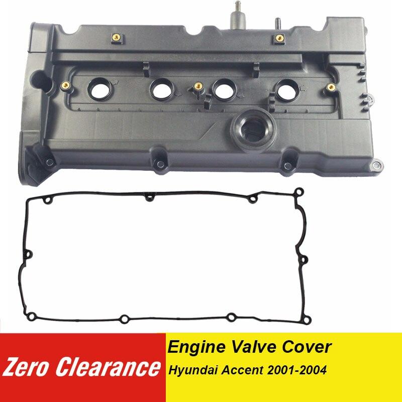 Zeroclearance 真新しい本エンジンバルブカバー PCV バルブガスケット 22410 から 26611 フィット現代アクセント 2001-2004