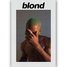 MQ1811 Frank Ocean Blond Rap Music Star Singer Album Hot New Art Poster Top Silk Light Canvas Home Decor Wall Picture Printings(China)