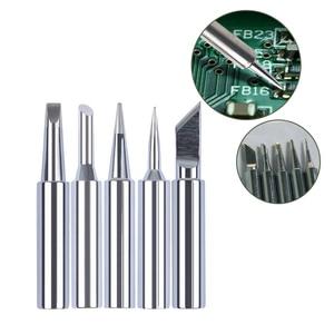 Image 5 - 5pcs Solder Tips Soldering Solder Iron Tips Head Bit For 936/937/938/969 Soldering Station Soldering tools For Welding Accessory