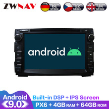 цена на Android 9 IPS Screen PX6 DSP For KIA Ceed 2009 2010 2011 2012 Car DVD Player GPS Multimedia Player Head Unit Radio Audio Stereo