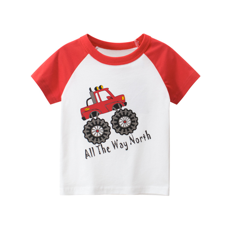 Summer 2020 Casual Summer Children Clothing Cotton Short Sleeve T-shirt Mother Kids For Teenage Clothes Active Boys Fashion Tops