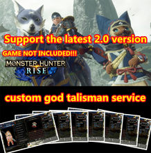 Monster Hunter Rise Mod Save File Modify Digital Things Only Not Game Card God Talisman Custom Unlock All Materials Money Items